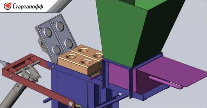 Как производят кирпич лего